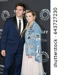 """Small photo of LOS ANGELES - MAY 18: Colt Prattes, Abigail Breslin at the """"Dirty Dancing: The New ABC Musical Event"""" Premiere Screening at the Paley Center for Media on May 18, 2017 in Beverly Hills, CA"""