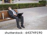 Businessman Fallen Asleep On A...