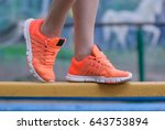 sport and fitness. close up of... | Shutterstock . vector #643753894
