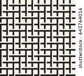 seamless woven stripes lattice...   Shutterstock .eps vector #643764016