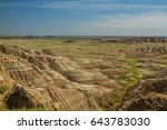 badlands | Shutterstock . vector #643783030