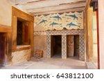 antique queen's megaron  great...   Shutterstock . vector #643812100