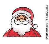 christmas santa claus | Shutterstock .eps vector #643820869