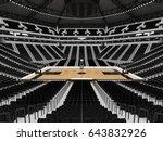 3d render of beautiful sports... | Shutterstock . vector #643832926