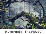 3d Illustration Of Forest...