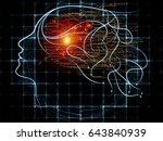 mind tangents series....   Shutterstock . vector #643840939
