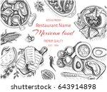 vector illustration sketch  ... | Shutterstock .eps vector #643914898