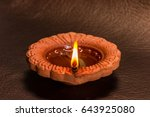 indian traditional diwali... | Shutterstock . vector #643925080