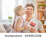 happy father's day  child... | Shutterstock . vector #644001208