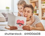 happy father's day  child... | Shutterstock . vector #644006608