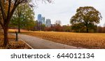 panoramic view of the oak hill... | Shutterstock . vector #644012134