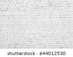 old white brick wall background | Shutterstock . vector #644012530