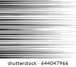 comic and manga books speed... | Shutterstock .eps vector #644047966