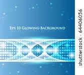 eps10 glowing vector background   Shutterstock .eps vector #64406056