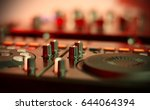 sound mixing controller for hip ... | Shutterstock . vector #644064394