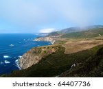 Highway One And The Ocean View