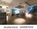 hotel spa waiting room interior | Shutterstock . vector #644087044