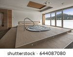 jacuzzi bath in hotel spa center | Shutterstock . vector #644087080