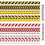 police line and do not cross...   Shutterstock .eps vector #644095468