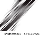 black and white abstract... | Shutterstock .eps vector #644118928