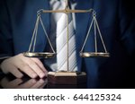 weight scale of justice  lawyer ...   Shutterstock . vector #644125324
