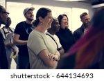 startup business team... | Shutterstock . vector #644134693