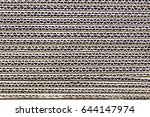 texture of brown paper box | Shutterstock . vector #644147974