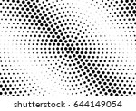 abstract halftone dotted...   Shutterstock .eps vector #644149054