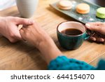 close up of affectionate young...   Shutterstock . vector #644154070