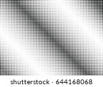 abstract halftone dotted...   Shutterstock .eps vector #644168068