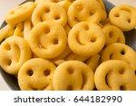 potato   happy face | Shutterstock . vector #644182990