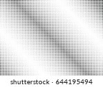 abstract halftone dotted...   Shutterstock .eps vector #644195494