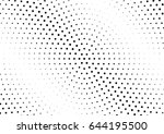 abstract halftone dotted...   Shutterstock .eps vector #644195500