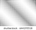 abstract halftone dotted...   Shutterstock .eps vector #644195518