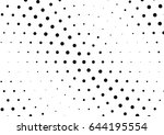 abstract halftone dotted...   Shutterstock .eps vector #644195554