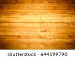 wooden worktop surface with old ... | Shutterstock . vector #644199790