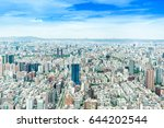 asia business concept for real... | Shutterstock . vector #644202544