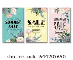 vector illustrations for... | Shutterstock .eps vector #644209690