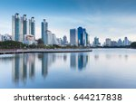 twilight tone  city office... | Shutterstock . vector #644217838