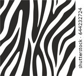 Zebra Animal Print Seamless...