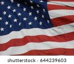 usa flag | Shutterstock . vector #644239603