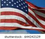 usa flag | Shutterstock . vector #644242129