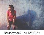 half length portrait of young... | Shutterstock . vector #644243170