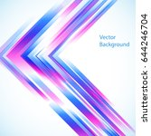 vector abstract background from ... | Shutterstock .eps vector #644246704