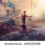 rapper dance on the street ...