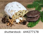 german christmas food... | Shutterstock . vector #644277178