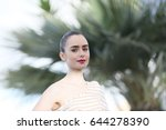 lily collins attends the ... | Shutterstock . vector #644278390