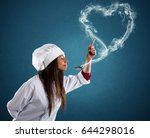 smelling the lovely aroma | Shutterstock . vector #644298016