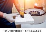 platelet rich plasma... | Shutterstock . vector #644311696