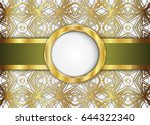 circle label and abstract...   Shutterstock .eps vector #644322340